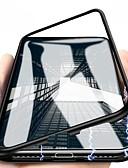 hesapli iPhone Kılıfları-Pouzdro Uyumluluk Apple iPhone X / iPhone 8 Plus / iPhone 8 Manyetik Tam Kaplama Kılıf Solid Sert Metal