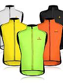 povoljno Muške jakne i kaputi-WOSAWE Muškarci Bez rukávů Biciklistički prsluk - žuta / Zelen / Crna / žuta Bicikl Mellény, Vjetronepropusnost, Reflektirajuće trake Mrežica Kolaž