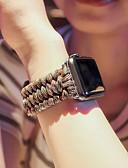 זול להקות Smartwatch-צפו בנד ל סדרת Apple Watch 5/4/3/2/1 Apple רצועת ספורט מתכת אל חלד / ניילון רצועת יד לספורט