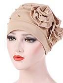 abordables Sombreros de mujer-Mujer Con Cuentas Sombrero Floppy - Básico / Vacaciones Un Color