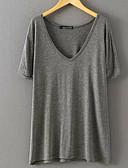 ieftine Bluze & Camisole Femei-Pentru femei Tricou De Bază - Mată