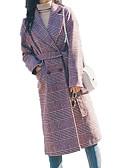 ieftine Fuste de Damă-Pentru femei Palton Activ - Puncte & Carouri