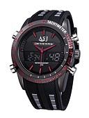 ieftine Ceasuri de Lux-ASJ Ceas Sport emițători Rezistent la Apă, Calendar, Cronograf Rosu / Albastru / Japoneză / Iluminat / Japoneză