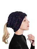 olcso Női kalapok-Női Színes Pliszé Alap / Szabadság - Széles karimájú kalap