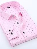 זול חולצות-גראפי בסיסי חולצה - בגדי ריקוד גברים ורוד מסמיק