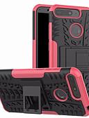 hesapli Cep Telefonu Kılıfları-Pouzdro Uyumluluk Huawei Huawei Y6 (2018) Satandlı Arka Kapak Zırh Sert PC