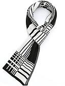 abordables Bufandas de hombres-Hombre Plisado Rectángulo Bloques