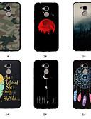 זול מגנים לטלפון-מגן עבור Huawei Huawei Honor 10 / Huawei Honor 9 Lite / Honor 7A תבנית כיסוי אחורי מילה / ביטוי / נוף / לוכד חלומות רך TPU
