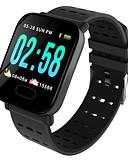 baratos Relógios Digitais-BoZhuo A6 Pulseira inteligente Android iOS Bluetooth Impermeável Monitor de Batimento Cardíaco Medição de Pressão Sanguínea Calorias Queimadas Tora de Exercicio Podômetro Aviso de Chamada Monitor de