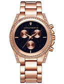 cheap Square & RectangularWatches-Women's Luxury Watches Wrist Watch Quartz Stainless Steel Rose Gold Cool Analog Ladies Casual - Rose Gold
