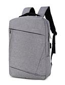 preiswerte Damen Nachtwäsche-Unisex Taschen Nylon Rucksack Reißverschluss Volltonfarbe Grau