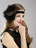 cheap Women's Headpieces-Women's Vintage / 1920s / The Great Gatsby Headband Tropical Leaf, Sequins