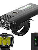 ieftine Chiloți-Iluminat Bicicletă Față LED Lumini de Bicicletă Ciclism Rezistent la apă, Anti Orbire, Senzor de Lumină Baterii Lithium-ion Reîncărcabilă 650 lm Alb Camping / Cățărare / Speologie / Ciclism