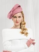 halpa Pluskokoiset mekot-100% villa hatut kanssa Ruseteilla 1kpl Kausaliteetti / Arki-asut Päähine