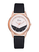 cheap Quartz Watches-Women's Wrist Watch Quartz Black / White / Brown 30 m Creative New Design Analog Ladies Fashion - Brown Pink Light Green