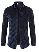 ieftine Blazer & Costume de Bărbați-Bărbați Cămașă De Bază - Mată