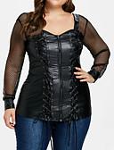 baratos Blusas Femininas-Mulheres Camiseta Moda de Rua Sólido