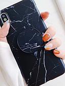 povoljno Maske za mobitele-Θήκη Za Apple iPhone XS / iPhone XR / iPhone XS Max sa stalkom / IMD / Uzorak Stražnja maska Mramor Mekano TPU