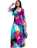 ราคาถูก เสื้อฮู้ดและเสื้อกันหนาวสเว็ตเชิ้ตผู้หญิง-สำหรับผู้หญิง ปาร์ตี้ ปลอก แต่งตัว ขนาดใหญ่ เอวสูง คอวี