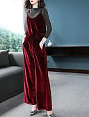 economico Completi due pezzi da donna-Per donna Essenziale Set Tinta unita Pantalone