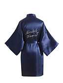 cheap Women's Skirts-Faux Silk Robes Wedding Non-personalized