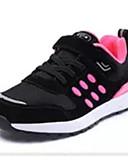 abordables Joyas de Moda-Mujer Malla Primavera & Otoño Zapatillas de Atletismo Paseo Tacón Plano Negro / Rojo / Azul