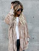 preiswerte Damen Jacken-Damen Alltag Grundlegend Standard Jacke, Solide Mit Kapuze Langarm Polyester Armeegrün / Khaki / Königsblau XXXL / XXXXL / XXXXXL