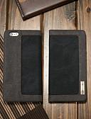 Недорогие Кейсы для iPhone-Кейс для Назначение Apple iPhone 6s / iPhone 6 Кошелек / Бумажник для карт / со стендом Чехол Однотонный Твердый текстильный
