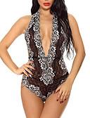 hesapli Seksi Organlar-Kadın's Etekler - Solid Dantel Siyah YAKUT Mor L XL XXL / Jartiyerli İç Giyim / Sexy