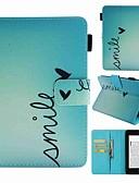 halpa Puhelimen kuoret-Etui Käyttötarkoitus Amazon Kindle PaperWhite 4 Korttikotelo / Iskunkestävä / Kuvio Suojakuori Sana / lause Kova PU-nahka