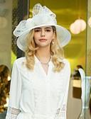 저렴한 파티 헤드피스-폴리 에스터 모자 와 리본장식 1 개 결혼식 / 파티 / 이브닝 투구