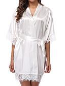 hesapli Bornozlar ve Pijamalar-Kişiselleştirilmemiş Polyester / Poliamit Hediyelikler Dantel Düğün