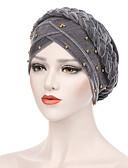 hesapli Kadın Şapkaları-Kadın's Vintage Parti Tatil Polyester Süet Kıvırılan Şapka Solid Tüm Mevsimler Mor Ordu Yeşili Navy Mavi / Kumaş