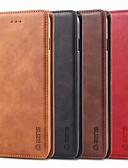 halpa Puhelimen kuoret-Etui Käyttötarkoitus Samsung Galaxy S9 / S9 Plus / S8 Plus Korttikotelo / Tuella / Flip Suojakuori Yhtenäinen Kova PU-nahka