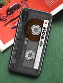 זול מגנים לאייפון-מגן עבור Apple iPhone XS / iPhone XR / iPhone XS Max תבנית כיסוי אחורי אריח קשיח TPU / אקרילי