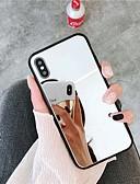 billige iPhone-etuier-Etui Til Apple iPhone XR / iPhone XS Max Spejl Bagcover Ensfarvet Hårdt Akryl for iPhone XS / iPhone XR / iPhone XS Max