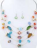 זול תכשיטים אופנתיים-בגדי ריקוד נשים בוהמי אתני שכבות מרובות סגסוגת יומי