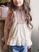 povoljno Majice za djevojčice-Djeca Djevojčice Aktivan Color block Dugih rukava Majica Blushing Pink