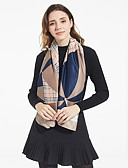 cheap Women's Scarves-Women's Square Scarf - Print Tassel