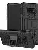 hesapli Cep Telefonu Kılıfları-Pouzdro Uyumluluk Samsung Galaxy S9 / S9 Plus / S8 Plus Şoka Dayanıklı / Satandlı Arka Kapak Solid / Geometrik Desenli Sert TPU