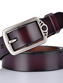 cheap Men's Belt-Men's Vintage Waist Belt - Solid Colored