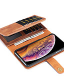 cheap iPhone Cases-Nillkin Case For Apple iPhone XR / iPhone XS Max Wallet / Card Holder / with Stand Full Body Cases Solid Colored Hard PU Leather for iPhone XS / iPhone XR / iPhone XS Max