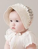 お買い得  子供用 スカーフ-幼児 女の子 ベーシック / 甘い サンフラワー ソリッド リネン ヘアアクセサリー ベージュ フリーサイズ