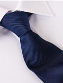 cheap Men's Belt-Men's Party / Work / Basic Necktie - Solid Colored