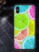 halpa iPhone kotelot-Etui Käyttötarkoitus Apple iPhone XR / iPhone X Kuvio Takakuori Hedelmä Pehmeä TPU