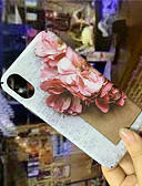 זול מגנים לאייפון-מגן עבור Apple iPhone XS / iPhone XR / iPhone XS Max זוהר בחושך / תבנית כיסוי אחורי פרח קשיח PC