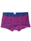 abordables Ropa interior para hombre exótica-Hombre Normal Short y Slip de Chico / Boxer / Slip - Básico 1 Pieza Media cintura Morado XL XXL XXXL