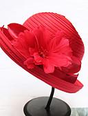 hesapli Gece Elbiseleri-Kadın's Actif Temel sevimli Stil Polyester Hasır Hasır Şapka Güneş şapkası Solid Tüm Mevsimler Gri Haki Navy Mavi