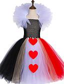 זול שמלות לבנות-המלכה של לבבות השראה ילדים בנות טוטו השמלה טול תחפושת קרנבל תחפושת