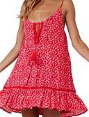 זול שמלות מיני-כתפיה מעל הברך שמלה סקייטר\מחליקה על הקרח רזה בגדי ריקוד נשים
